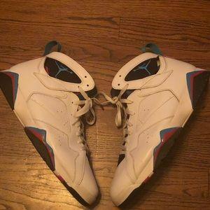 Men's Retro Jordan 7's Orion Blue Size 14